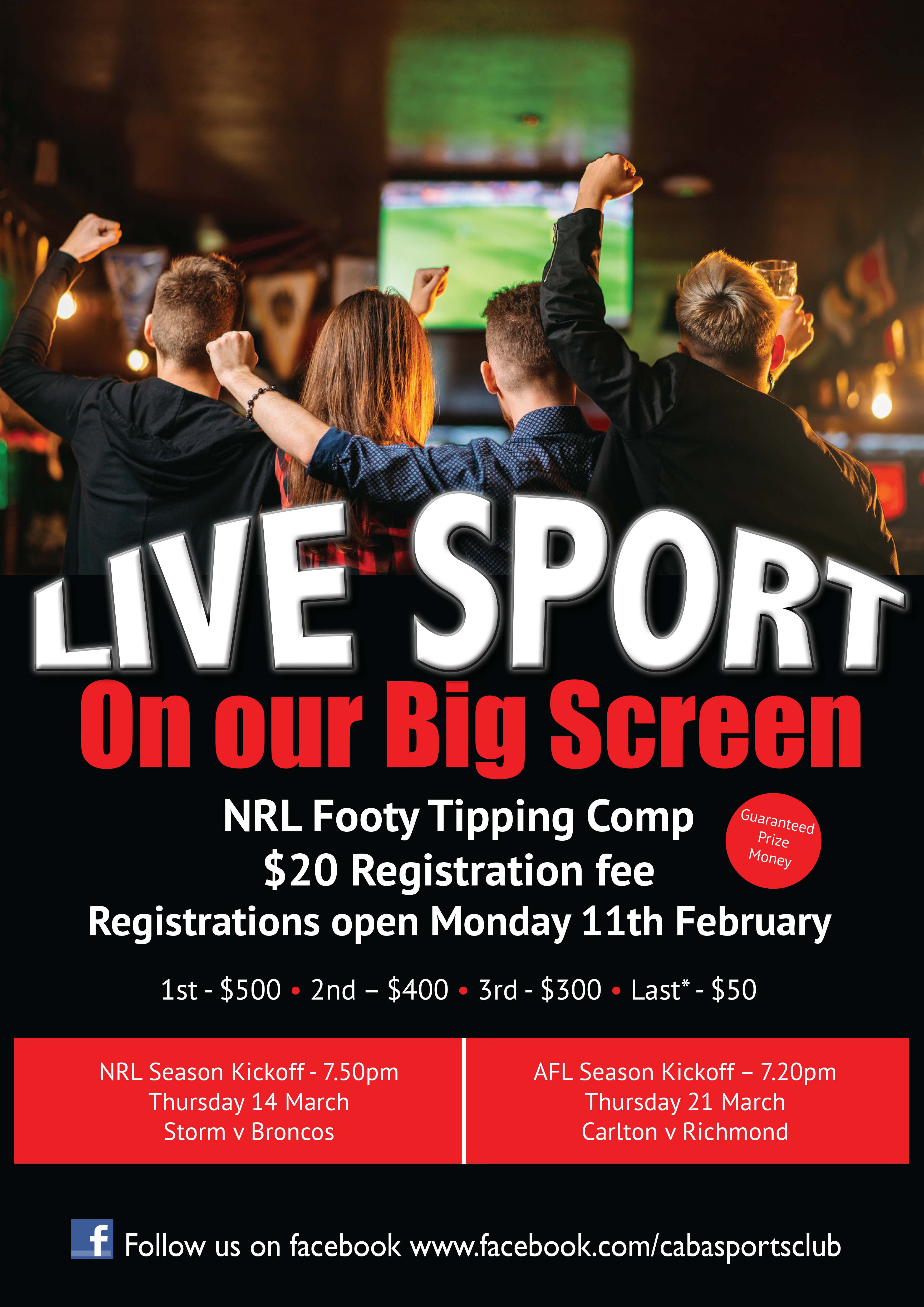Footy Tipping Competition