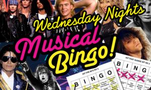 Wednesday musical bingo et