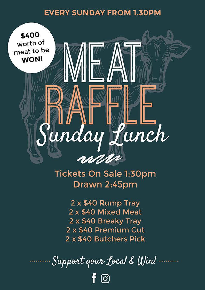 sunday meat raffles a4