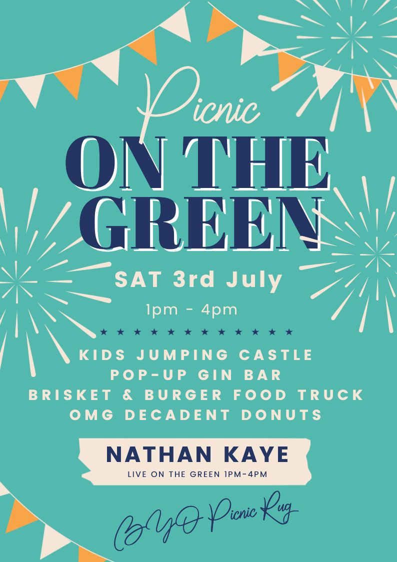 picnic on the green website poster