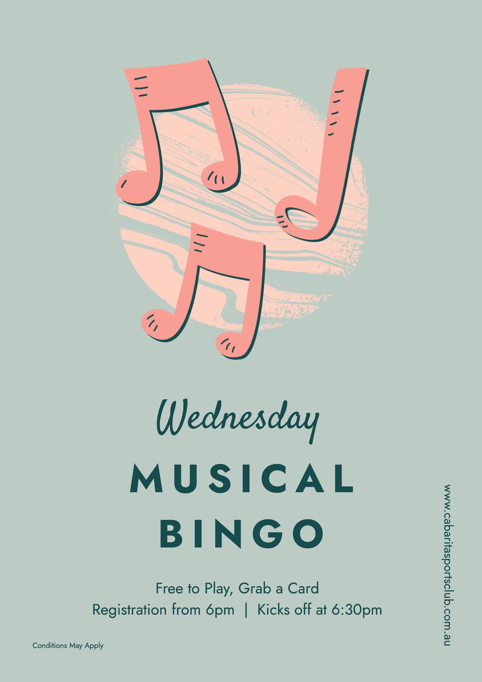 cbbsc musical bingo poster 1
