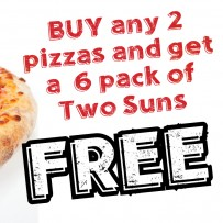 Midweek Pizza deal